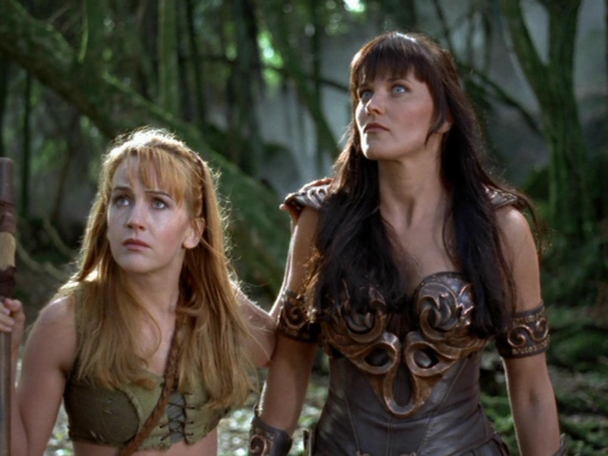 Xena extreme fisting gabriellle fan fiction